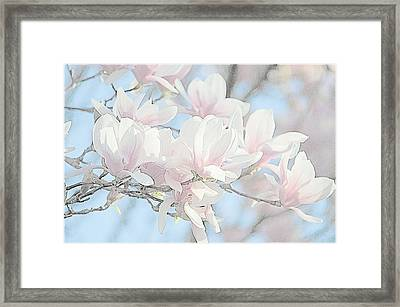 Framed Print featuring the photograph Spring Has Arrived 3 by Susan  McMenamin