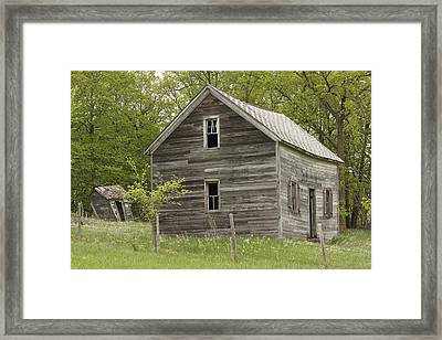 Spring Has Arrived At Captain Ed's Framed Print by Penny Meyers