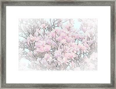 Framed Print featuring the photograph Spring Has Arrived I by Susan  McMenamin