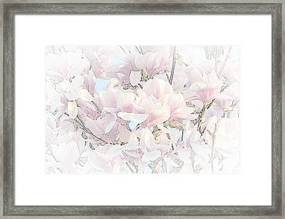 Framed Print featuring the photograph Spring Has Arrived II  by Susan  McMenamin
