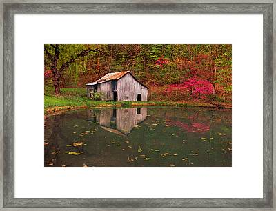 Spring Has Come To The Appalachia Framed Print