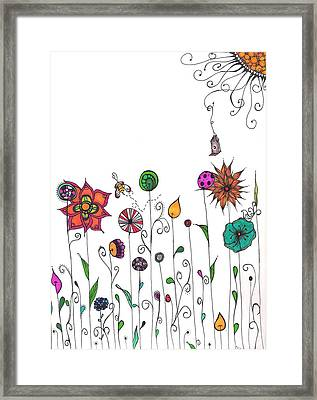 Spring Has Sprung Framed Print by Lori Thompson