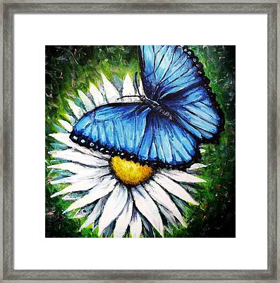 Framed Print featuring the painting Spring Has Sprung by Shana Rowe Jackson