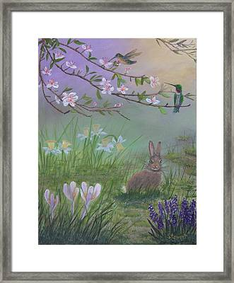 Spring Has Sprung Framed Print