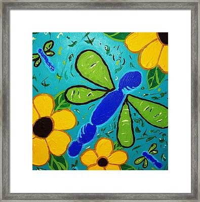 Spring Has Sprung Framed Print by Yshua The Painter