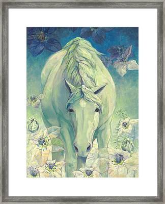 Spring Horse Framed Print