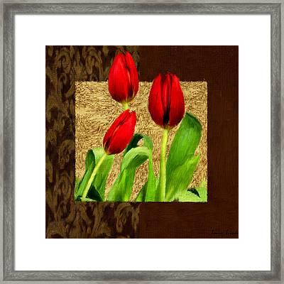 Spring Hues Framed Print by Lourry Legarde