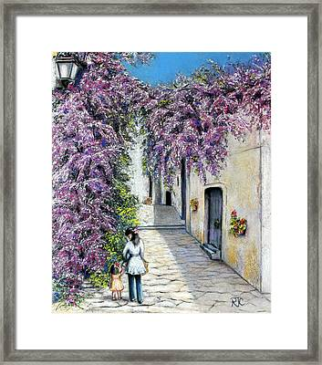 Spring In Andalucia Framed Print by Rosemary Colyer