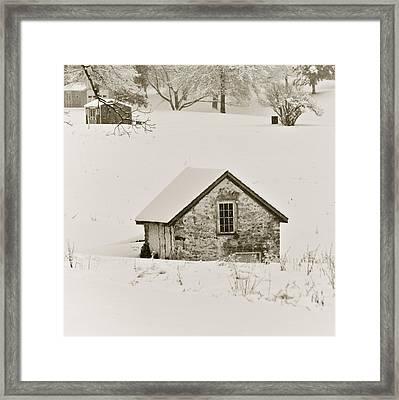Spring In Boyertown Framed Print by Trish Tritz
