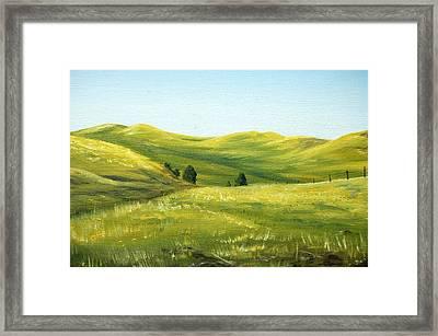 Spring In California Framed Print by AnnaJo Vahle