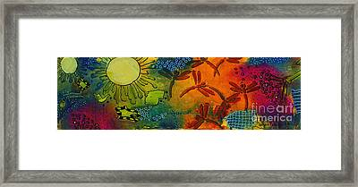 Spring In Full Effect Framed Print