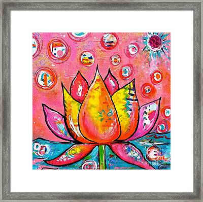 Spring In India Framed Print