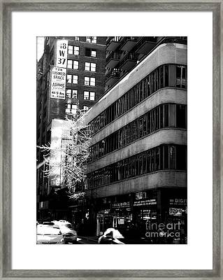 Spring In Manhattan Framed Print by James Aiken