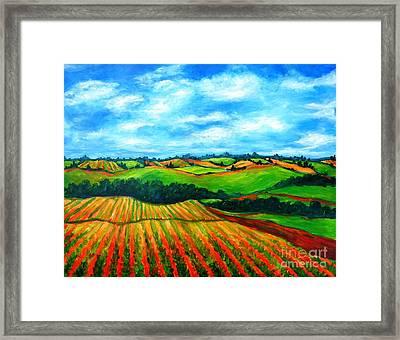Spring In Prince Edward Island Framed Print