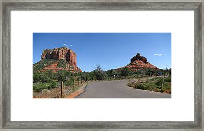 Spring In Sedona Framed Print