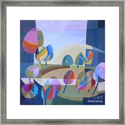 Spring In The Air Framed Print by Carola Ann-Margret Forsberg