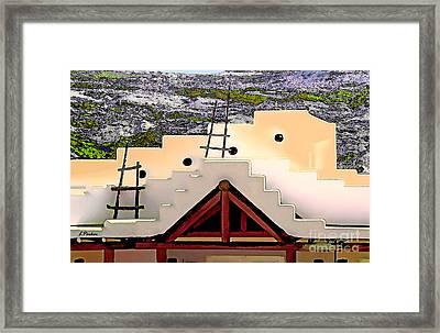 Spring In The Desert Framed Print by Linda  Parker