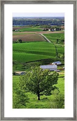 Spring In The Mississippi River Valley Framed Print
