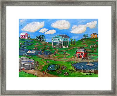 Spring In The South Framed Print
