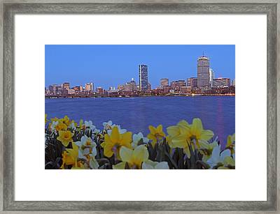 Spring Into Boston Framed Print by Juergen Roth