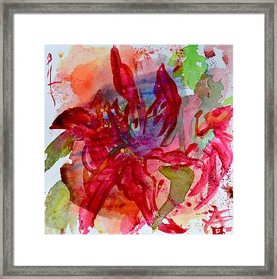 Spring Is A Messy Business Framed Print by Beverley Harper Tinsley