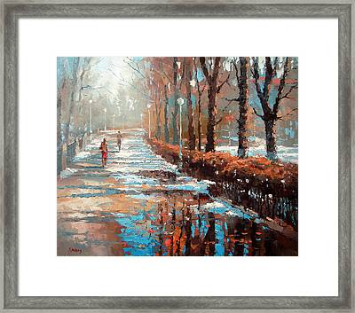 Spring Is Coming Framed Print by Dmitry Spiros