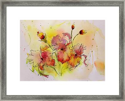 Spring Is Coming Framed Print by Laura Lee Zanghetti