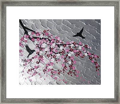 Spring Is Here Framed Print by Cathy Jacobs