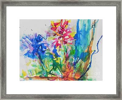 Spring Is In The Air Framed Print by Chrisann Ellis