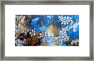 Spring Is In The Air Framed Print by Sunel De Lange