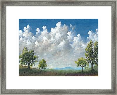 Spring Framed Print by Kenneth Stockton