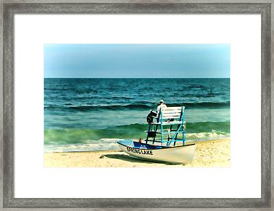Spring Lake Framed Print