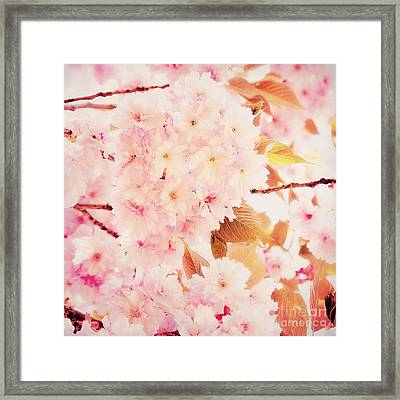Spring Love Framed Print by Angela Doelling AD DESIGN Photo and PhotoArt