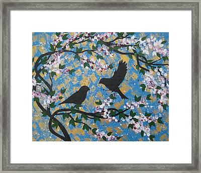 Spring Love Framed Print