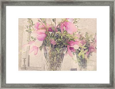 Spring Magnolias Framed Print