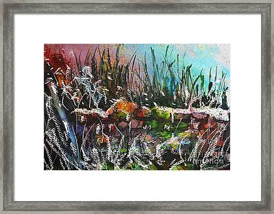 Spring Meltdown Framed Print