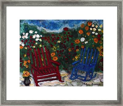 Spring Memories Framed Print by Louise Burkhardt