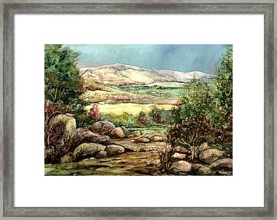 Framed Print featuring the painting Spring by Mikhail Savchenko