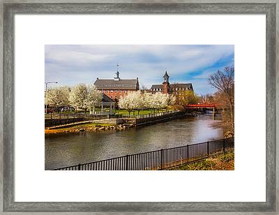 Spring Mills Framed Print by Robert Clifford