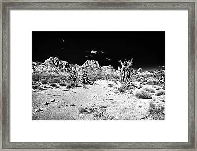 Spring Mountain Framed Print by John Rizzuto