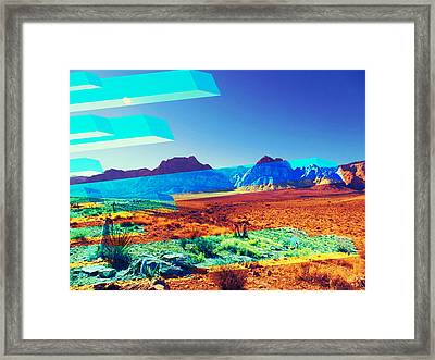 Spring Mountain Trip Framed Print