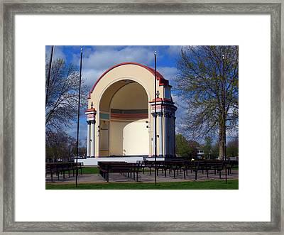 Spring Music Framed Print
