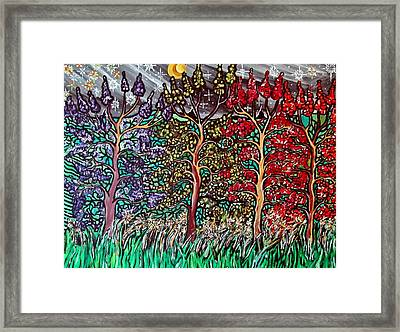 Spring Night Framed Print by Matthew  James