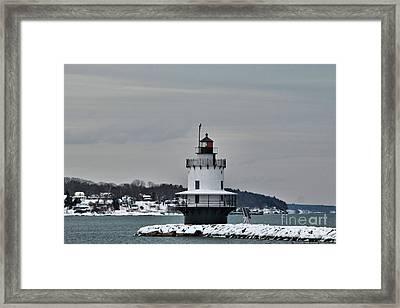 Spring Point Ledge Light_9969 Framed Print by Joseph Marquis