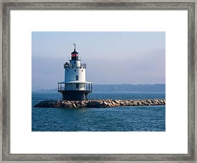 Spring Point Lighthouse Framed Print