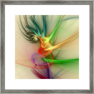 Spring Power Framed Print by Anastasiya Malakhova
