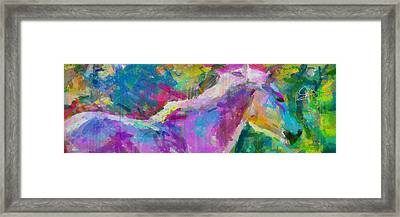 Spring Rain Framed Print by Greg Collins