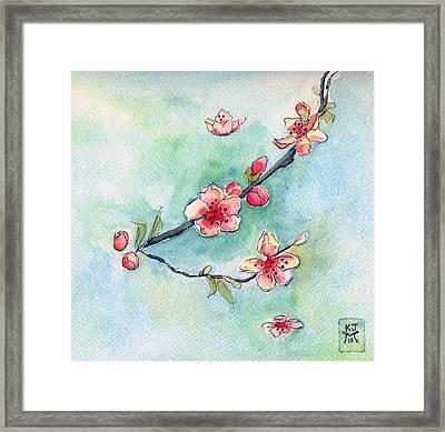 Spring Relief Framed Print