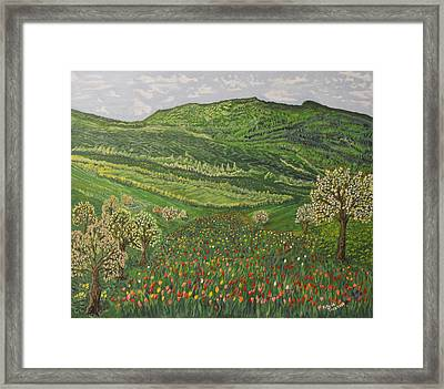 Spring Remembrances Framed Print by Felicia Tica