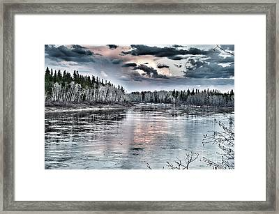 Spring River Framed Print by Lisa Killins